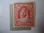 Stamps : Asia : Jordan :  rey de Jordania-Abd Allah Al-Husain 1882-1951.