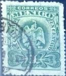 Sellos de America - México -  Intercambio 0,35 usd 1 cent. 1899