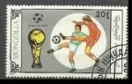 Sellos de Asia - Mongolia -  Copa Mundial de Fútbol de 1990