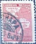 Stamps Mexico -  Intercambio 1,00 usd 10 cent. 1926