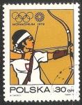 Sellos de Europa - Polonia -  Juegos Olímpicos de Múnich 1972