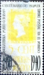 Sellos de America - México -  Intercambio 0,50 usd 5 cent. 1940