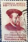 Sellos de America - México -  Intercambio crxf 0,20 usd 10 cent. 1939