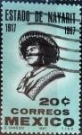 Sellos de America - México -  Intercambio crxf 0,20 usd 20 cent. 1967