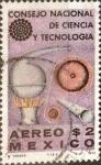 Sellos de America - México -  Intercambio crxf 0,20 usd 2 p. 1972