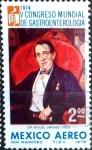 Stamps Mexico -  Intercambio crxf 0,20 usd 2 p. 1975