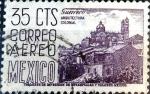 Stamps Mexico -  Intercambio 0,20 usd 35 cent. 1955