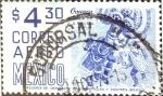 Sellos de America - México -  Intercambio 0,25 usd 4,30 p. 1975