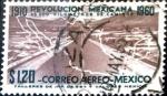 Sellos de America - México -  Intercambio 0,30 usd 1,20 p. 1960