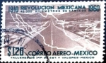 Stamps Mexico -  Intercambio 0,30 usd 1,20 p. 1960