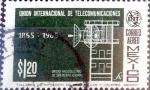 Sellos de America - México -  Intercambio 0,30 usd 1,20 p. 1965