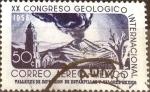 Sellos de America - México -  Intercambio 0,20 usd 50 cent. 1956