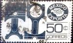 Sellos de America - México -  Intercambio 0,20 usd 50 cent. 1976