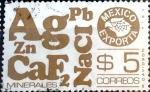 Sellos de America - México -  Intercambio 0,20 usd 5 p. 1978