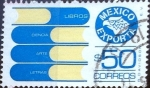 Stamps Mexico -  Intercambio 0,20 usd 50 p. 1983