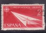 Stamps Europe - Spain -  correspondencia urgente