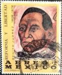 Sellos de America - México -  Intercambio 0,20 usd 2 p. 1972
