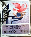 Sellos de America - México -  Intercambio crxf 0,20 usd 120 p. 1986