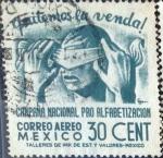Sellos de America - México -  Intercambio crxf 0,20 usd 30 cent. 1945