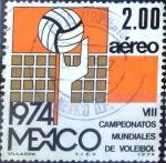 Sellos de America - México -  Intercambio crxf 0,20 usd 2 p. 1974