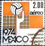 Sellos de America - México -  Intercambio nfxb 0,20 usd 2 p. 1974