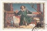 Stamps Mongolia -  obra de teatro