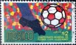 Sellos de America - México -  Intercambio nfxb 0,20 usd 2 p. 1969