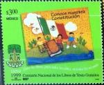 Sellos de America - México -  Intercambio nfxb 0,90 usd 3 p. 1999