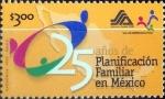 Sellos de America - México -  Intercambio 1,00 usd 3 p. 1999