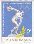 Sellos de Europa - Rumania -  60 aniv.fundación comité olímpico