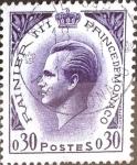 Stamps : Europe : Monaco :  Intercambio crxf 0,20 usd 0,30 fr. 1960