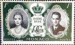Sellos de Europa - Mónaco -  Intercambio jxi 0,20 usd 1 fr. 1956