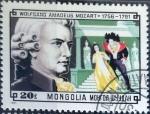 Stamps Mongolia -  Intercambio jxi 0,20 usd 20 m. 1981
