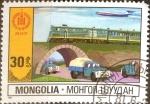 Stamps Mongolia -  Intercambio 0,20 usd 30 m. 1981