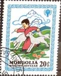Stamps Mongolia -  Intercambio 0,20 usd 20 m. 1980