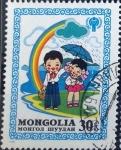 Stamps : Asia : Mongolia :  Intercambio 0,20 usd 30 m. 1980