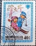 Sellos del Mundo : Asia : Mongolia : Intercambio 0,25 usd 40 m. 1980