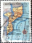 Sellos de Africa - Mozambique -  Intercambio 0,20 usd 1 e. 1954