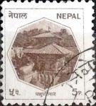 Sellos del Mundo : Asia : Nepal : Intercambio crxf 0,20 usd 5 p. 1986