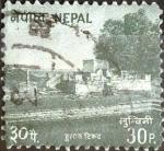 Sellos del Mundo : Asia : Nepal : Intercambio crxf 0,20 usd 30 p. 1994