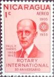 Sellos del Mundo : America : Nicaragua : Intercambio 0,20 usd 1 cent. 1955