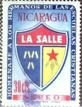 Stamps : America : Nicaragua :  Intercambio 0,20 usd 30 cent. 1958