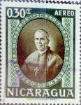 Sellos del Mundo : America : Nicaragua : Intercambio 0,20 usd 30 cent. 1957