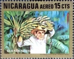 Stamps : America : Nicaragua :  Intercambio 0,20 usd 15 cent. 1969