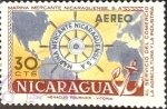 Stamps : America : Nicaragua :  Intercambio 0,20 usd 30 cent. 1957