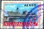 Sellos del Mundo : America : Nicaragua : Intercambio 0,45 usd 1 Córdoba. 1957