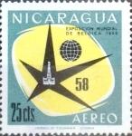 Sellos del Mundo : America : Nicaragua : Intercambio 0,20 usd 25 cent. 1958