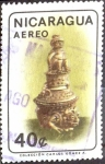Stamps : America : Nicaragua :  Intercambio 0,20 usd 40 cent. 1965