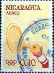 Stamps : America : Nicaragua :  Intercambio 0,20 usd 10 cent. 1963