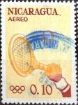 Sellos del Mundo : America : Nicaragua : Intercambio 0,20 usd 10 cent. 1963